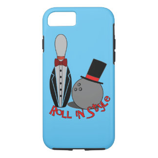 Roll in Style - Unusual Bowling Gifts iPhone 7 Case