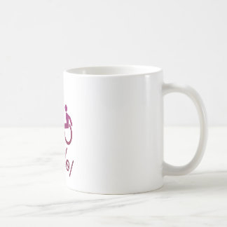 Roll Model - Disability Tees - in purple Mug
