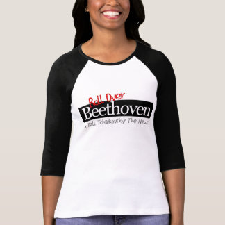 Roll Over Ladies 3/4 T Shirt