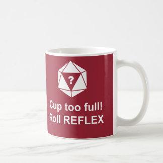 Roll reflex! basic white mug