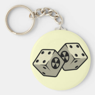 Roll the Dice Key Ring