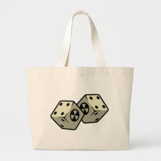 Roll the Dice Large Tote Bag