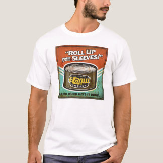 Roll Up Your Sleeves   Elbow Grease Tee