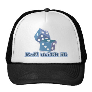 Roll with it - Dice Games Cap