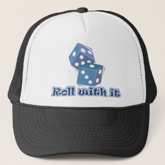 Roll with it - Dice Games Trucker Hat