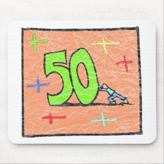 Rollback 50th Birthday Gifts Mouse Pads