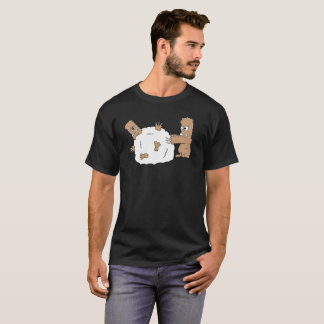 Rolled up Yeti T-Shirt