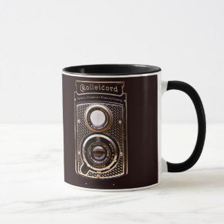 Rolleicord art deco camera mug