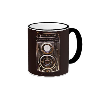 Rolleicord art deco camera ringer mug
