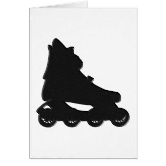 Roller-blade Greeting Card