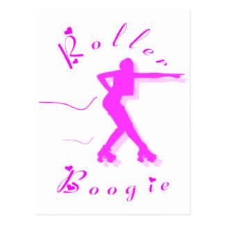 ROLLER BOOGIE POSTCARDS
