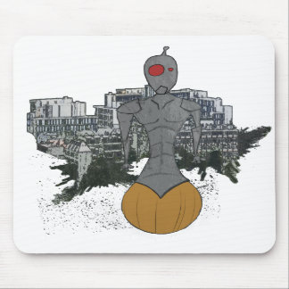 roller-bot mouse pad