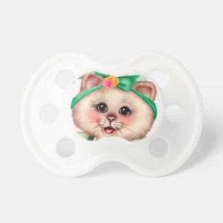 ROLLER CAT CUTE BooginHead® Custom Pacifier