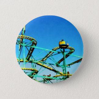Roller Coaster 6 Cm Round Badge