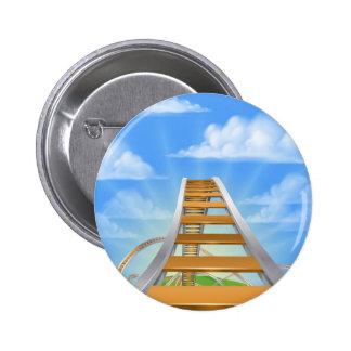 Roller Coaster Concept 6 Cm Round Badge
