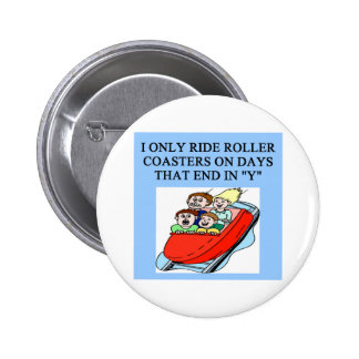 roller coaster fanatic buttons
