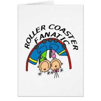 Roller Coaster Fanatic Greeting Card