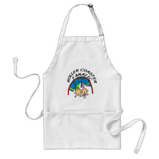 Roller Coaster Fanatic Tshirts and Gifts Aprons