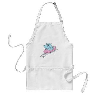 roller coaster hippo standard apron