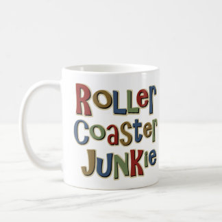 Roller Coaster Junkie Coffee Mug