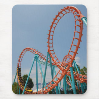 roller coaster mouse mat