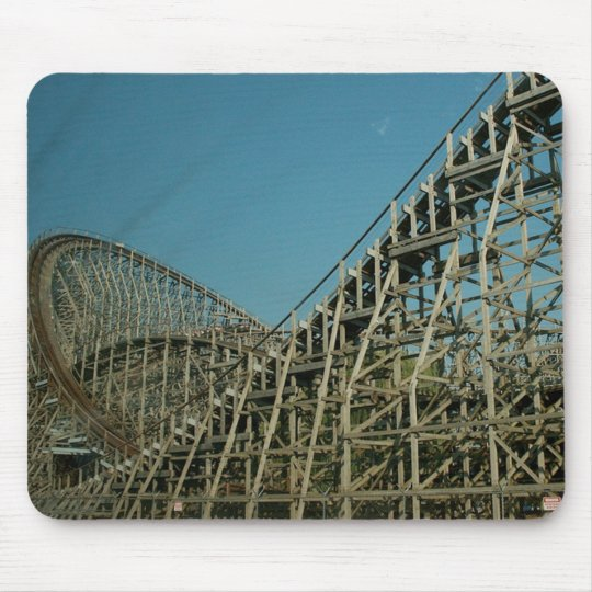 roller coaster mouse pad