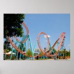 Roller Coaster Print