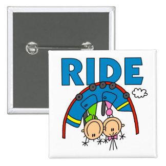 Roller Coaster Ride Pin
