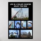 Roller Coaster Ride Poster