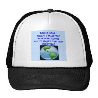 roller derby cap