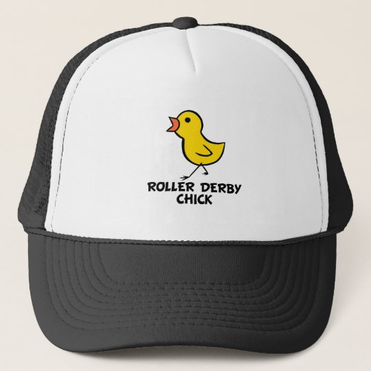 Roller Derby Chick Hat