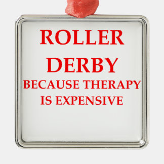 roller derby christmas ornament