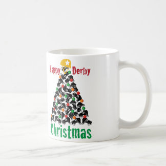 Roller Derby Christmas, Roller Skating Coffee Mug