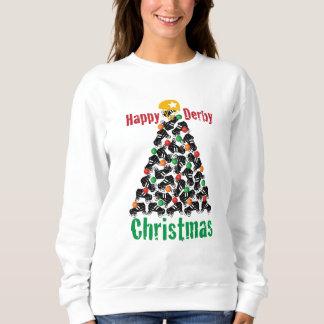 Roller Derby Christmas, Roller Skating Sweatshirt
