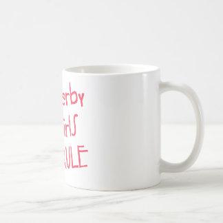 Roller Derby - Derby Girls Rule Coffee Mugs