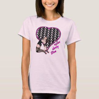roller derby Diva T-Shirt