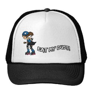 Roller Derby Eat my Dust Mesh Hats