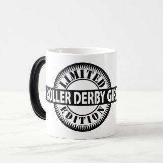 Roller Derby Girl Limited Edition, Skating Design Magic Mug