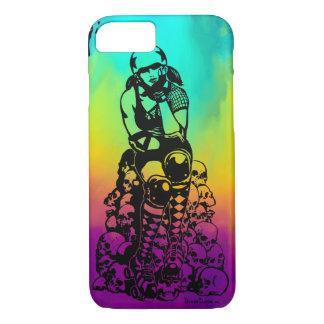 Roller Derby Girl Rainbow iPhone 7/8, Phone Case