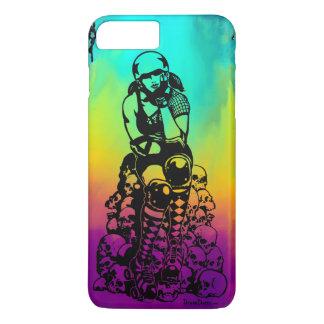 Roller Derby Girl Rainbow iPhone 7/8 Plus Case