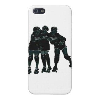 Roller Derby Girls iPhone 5 Case