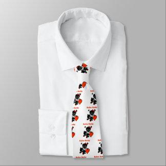 Roller Derby Heart (Red) Tie