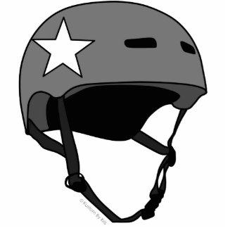 Roller Derby Helmet Keychain Photo Cutouts