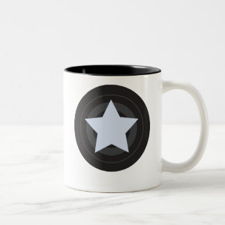 Roller Derby Jammer Two-Tone Coffee Mug