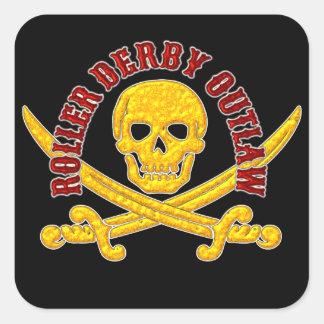 Roller Derby Outlaw Sticker