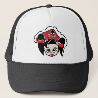 Roller Derby Pirate Cap