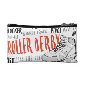 Roller Derby Purse Makeup Bag