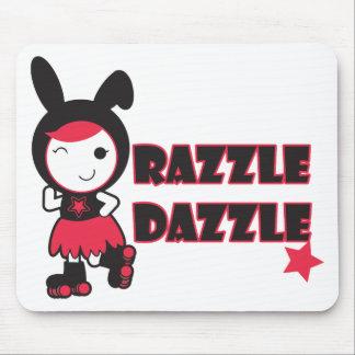 Roller Derby - Razzle Dazzle Mousepad