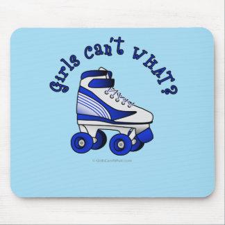 Roller Derby Skate - Blue Mouse Pad