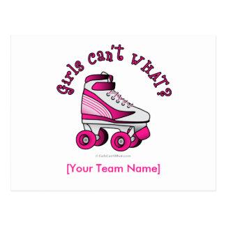 Roller Derby Skate - Pink Postcards